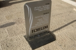 Rubber based aluminium Pavement sign