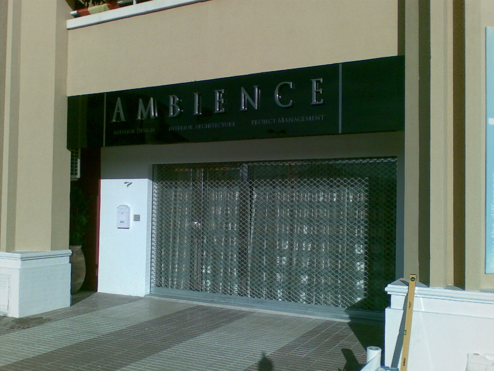 Illuminated Stainless steel stand off letters