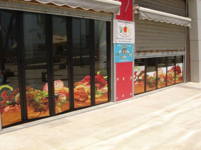 Digital prints window graphics