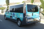 Digital and vinyl text vehicle graphics