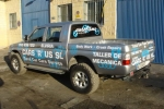 Vinyl graphics and logos